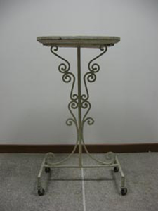Picture of iron table