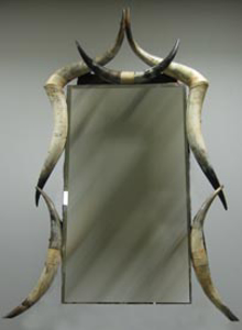 Immagine di specchiera corna bovine