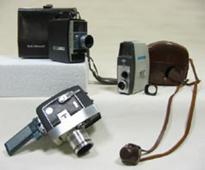 Picture of motion-picture camera