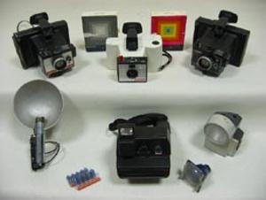 Immagine di macchine fotografiche polaroid