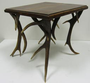 Picture of antler small table