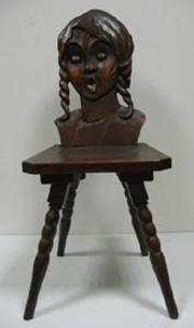 Immagine di sedia ragazza