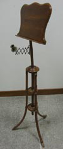 Picture of music stand