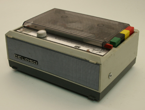 Picture of tape recorder