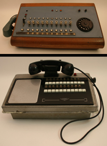 Immagine di telefoni centralini