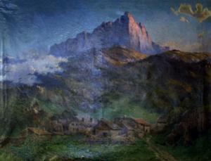 Picture of Les aiguilles de Warens (Haute Savoie) - Louis Wurer