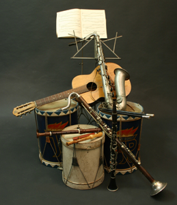 Picture of mischellaneous instruments