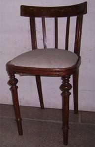 Immagine di sedia mogano