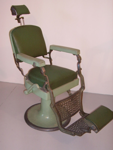 Picture of barber chair