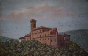 Picture of Oil painting Castle