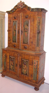Picture of painted cupboard