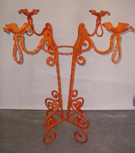 Picture of candelabra