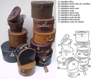 Picture of hatboxes n°48,71,72,73,74,75,76,77