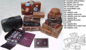 Picture of little suitcases n° from 97 to 109