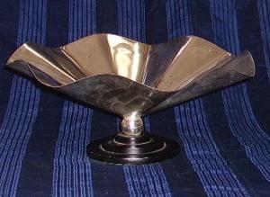 Immagine di Centrotavola metallo argentato