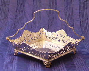 Picture of Centre-piece silver plated