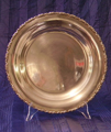 Picture of big plate silver plated