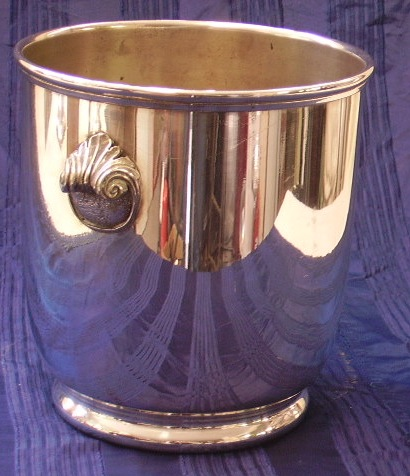 Picture of ice bucket silver plated