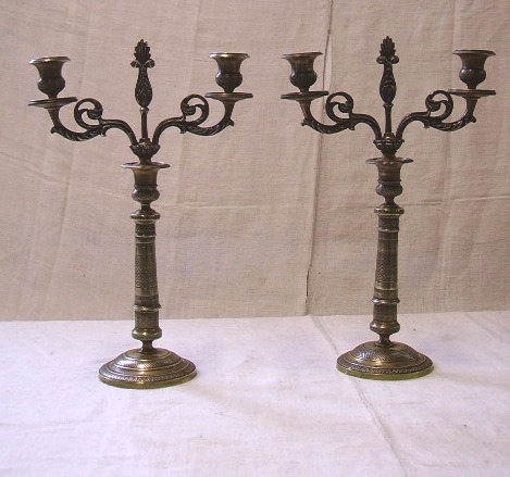 Picture of Pair of candelabra impero style