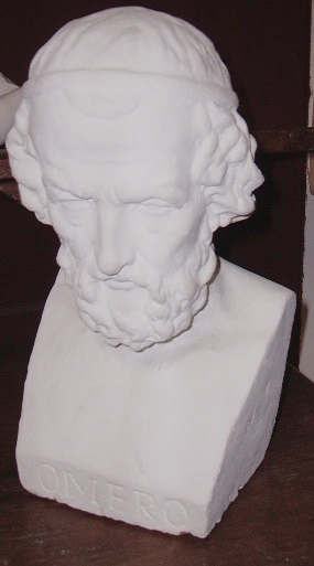 Picture of Plaster cast bust sculpure Homer