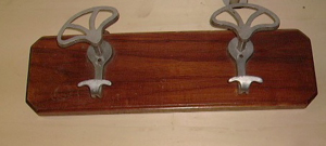 Picture of wall clothes hanger 2 hooks