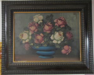 Picture of Oil painting Still life with roses
