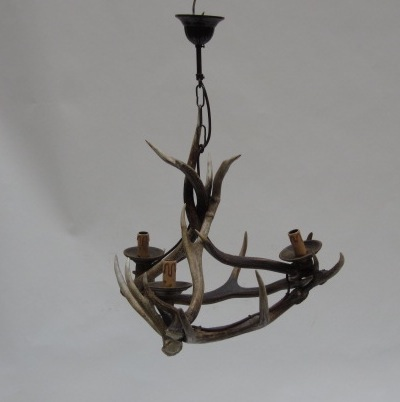 Picture of Antlers chandelier - mod 14