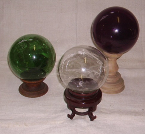 Picture of blown glass balls