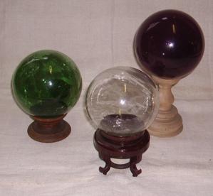 Immagine di sfere vetro soffiato