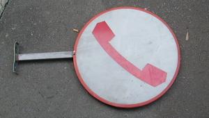 Immagine di insegna telefono pubblico SIP