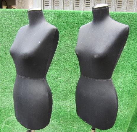 Immagine di busto sartoria donna nero base metallo n°6