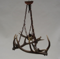 Immagine di lampadario corna cervo - mod 20