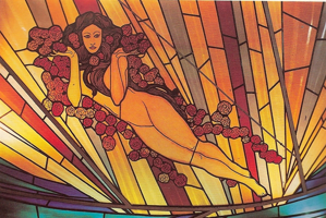 Picture of Stained glass window - The Dawn