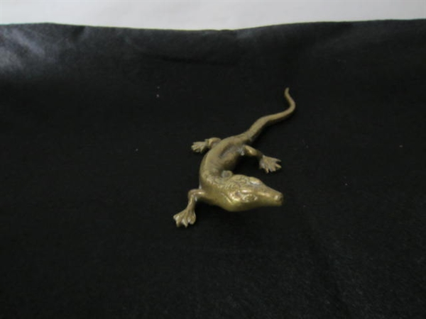 Immagine di Lucertola in bronzo