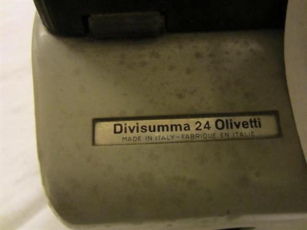 Immagine di Calcolatore Olivetti Divisumma 24
