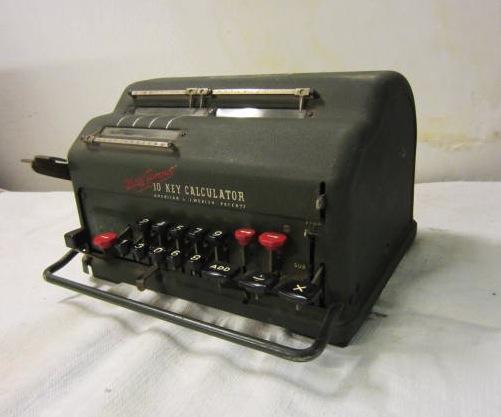 Picture of Calulator R.C. Allen Model 35