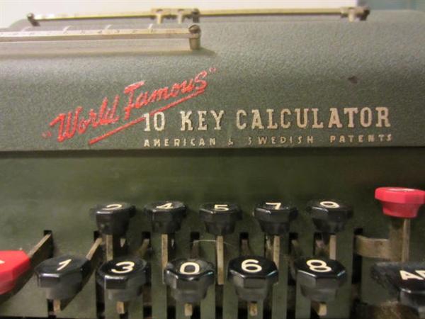 Immagine di Calcolatore R.C. Allen Modello 35