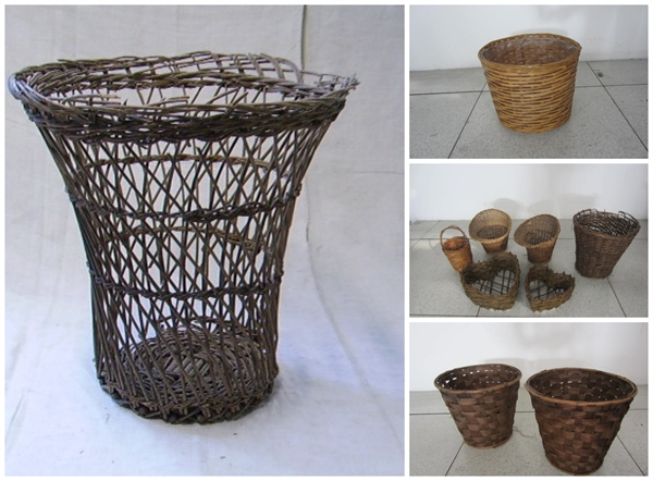 Picture of Wicker and rattan  Wastepaper basket