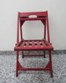 Picture of Wooden folding chair normal size