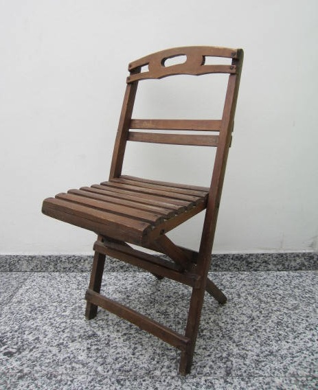 Picture of Wooden folding chair small size