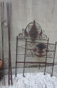 Immagine di Letto in ferro battuto fine 1800