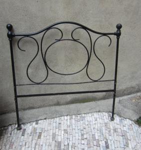 Immagine di Testata letto in ferro battuto