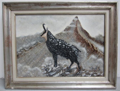 Picture of Oil painting Ibex by R. Fugazza