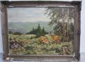 Immagine di Dipinto ad olio Caprioli nel bosco di H. Leuschen Kop