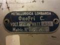 Immagine di Ventilatore Metallurgica Lombarda Onofri C.