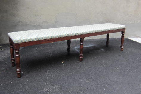 Picture of Pair of stufferd benches