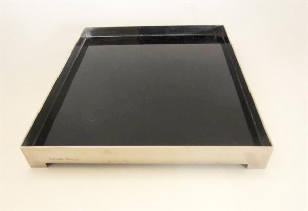 Immagine di Portadocumenti da scrivania in plexiglass nero di Gabriella Crespi