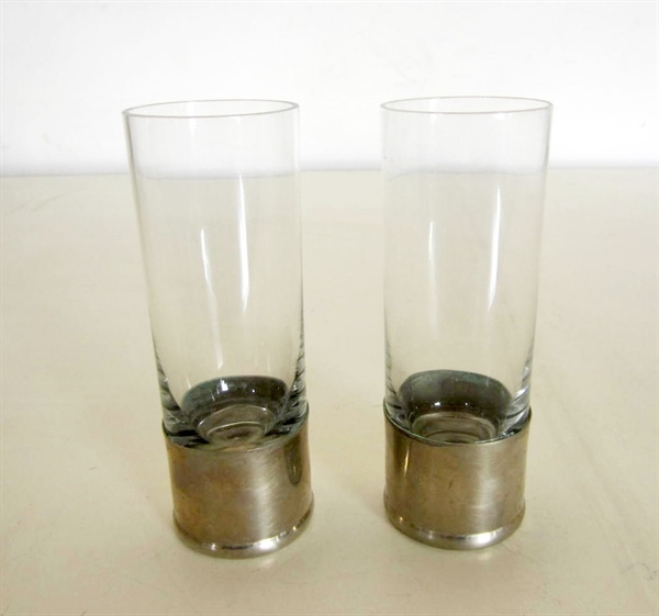 Picture of Pair of High Tumbler Glasses by Gabriella Crespi