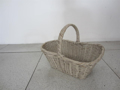 Picture of Basket n° 30 white with handle