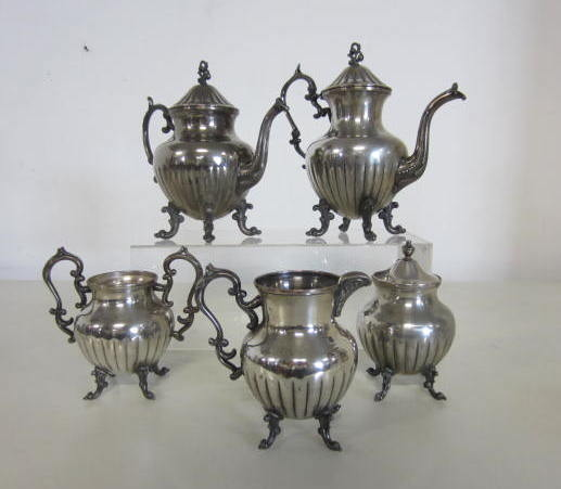 Picture of tea and coffee set - Sheffield